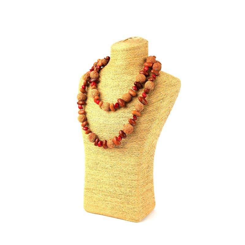 Quandong and Ininti Seed Necklace